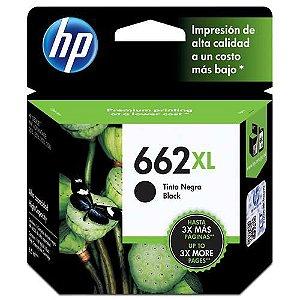 Original 662XL CZ105AB Cartucho de tinta HP Preto 360Páginas