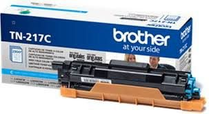 Original TN-217C Toner Brother Azul TN217C Autonomia 2.300Páginas