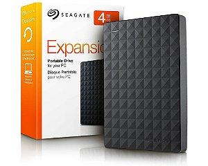 4TB - HD Externo Seagate STEA4000400 Expansion Portátil