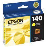 T140420 - Cartucho de Tinta Original Epson T140 - T1404 Amarelo 10ml