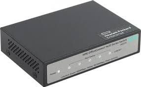 JH327A - Switch HP 1420-5G com 5 portas 10/100/1000 Mbps