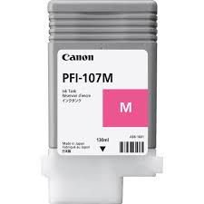 Original PFI-107M Cartucho de Tinta Canon Magenta 130ml