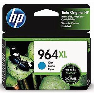 Original 964XL Cartucho de Tinta HP 3JA54AL Ciano 1.600Páginas