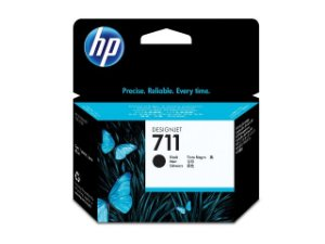 Original 711 CZ133A Cartucho HP Preto 80ml