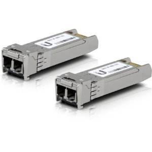 Transceiver Ubiquiti 2 LC 10Gbps 300m Multi - UF-MM-10G