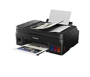 G4111 Multifuncional Tanque de Tinta Canon Mega Tank Impressora, Copiadora, Scanner e Wifi