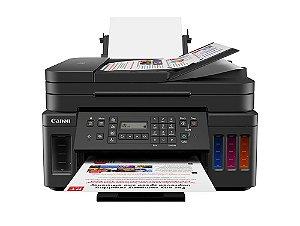 G7010 Multifuncional Tanque de Tinta Canon MegaTank Impressora, Copiadora, Scanner, Duplex e Wifi