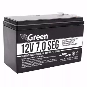 Bateria Selada VRLA 12V 7AH SEG Green