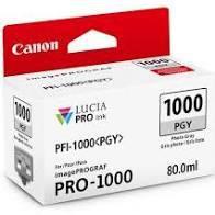 Original PFI1000PGY 0553C003AB Cartucho de Tinta Canon Cinza Foto 80ml