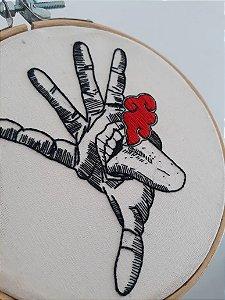 Quadro bastidor - Hand