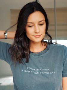 Camiseta - As a woman