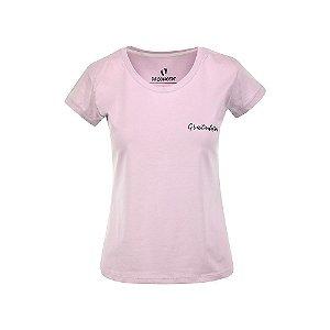 Camiseta Feminina Gratidão Lilás