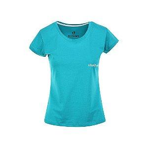 Camiseta Feminina Maktub Turquesa