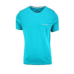 Camiseta Masculina Gratidão Turquesa