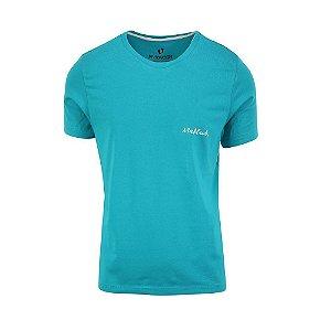 Camiseta Masculina Maktub Turquesa