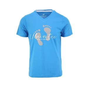 Camiseta Masculina Ubuntu Azul