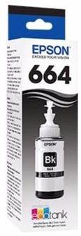Refil de Tinta EPSON T664120 T6641 Preto