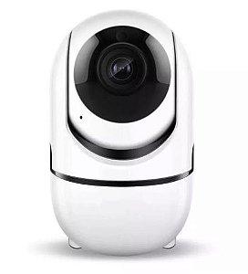 Câmera Ip Smart Hd Wifi Auto Tracking Visão Noturna Luatek