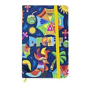 Caderninho de anotações galo da Madrugada - Recife