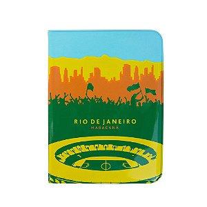 Capa para passaporte Maracanã - Rio de Janeiro