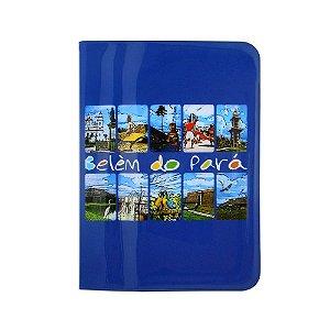 Capa para passaporte pontos turisticos - Belém