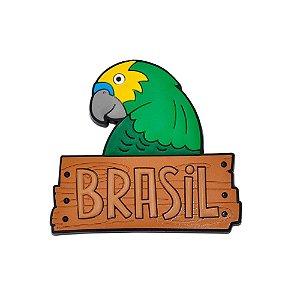 Imã de geladeira arara - Brasil