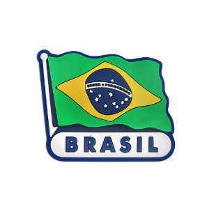 Imã de geladeira Bandeira - Brasil