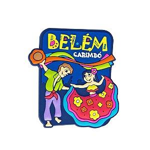Imã de geladeira carimbó - Belém