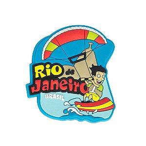 Imã de geladeira emborrachado esportes - Rio de Janeiro