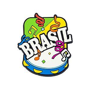 Imã de geladeira notas carnaval - Brasil