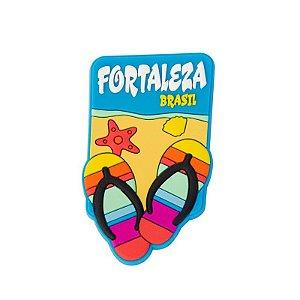 Imã de geladeira praia - Fortaleza
