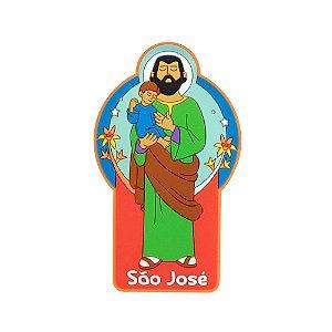 Imã de geladeira São José - Religioso