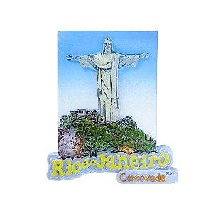 Imã de resina cristo - Rio de Janeiro