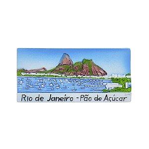Imã de resina Pão de Açúcar - Rio de Janeiro