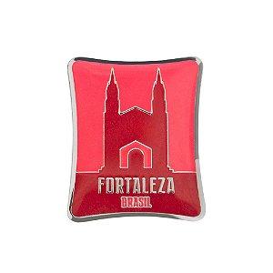 Imã de geladeira monumentos - Fortaleza