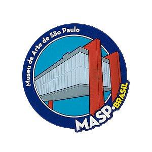 Imã de geladeira MASP - São Paulo