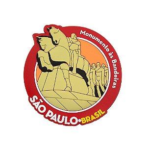 Imã de geladeira monumento à bandeira - São Paulo