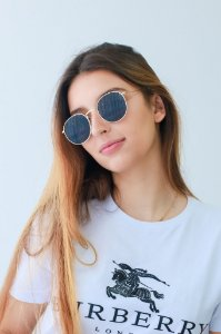 Óculos de sol Perla Prado ref: Bahamas Cor: Fumê