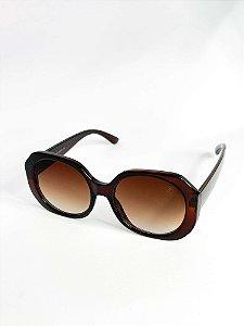 Óculos de sol Perla Prado ref: Milan Bronw Cor: Marrom