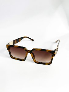 Óculos de sol Perla Prado ref: Louis Cor: Marrom Turtle