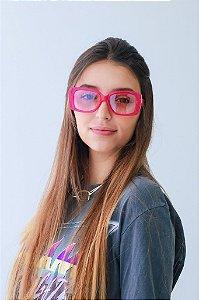 Óculos de sol Perla Prado ref: Tokio Cor: Rosa