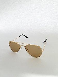 Óculos de Sol Kids Perla Prado - ref: Aviador Bronw