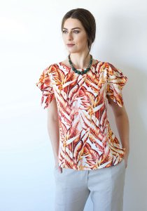 BLUSA TROPICAL TONS TERROSOS