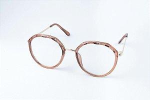 Armação Óculos de grau Perla Prado - ref: Cris