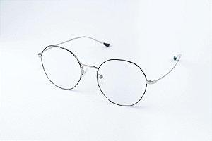 Armação Óculos de Grau Perla Prado - ref: Louis Black