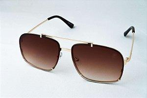 Óculos de Sol Perla Prado - ref: Singapura Gold