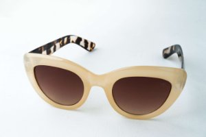 Óculos de Sol Perla Prado - ref: Laisla Bege