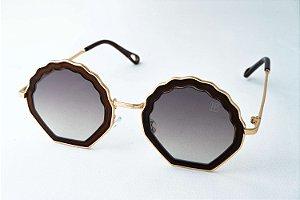 Óculos de Sol Perla Prado - ref: Maldivas Brown