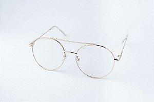 Armação Óculos de Grau Perla Prado -  mod: Aline