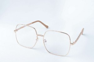 Armação Óculos de Grau Perla Prado - ref: Luiza Gold